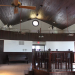 b'nai abraham synagogue interior from front to back