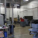 DJO Surgical equipment room